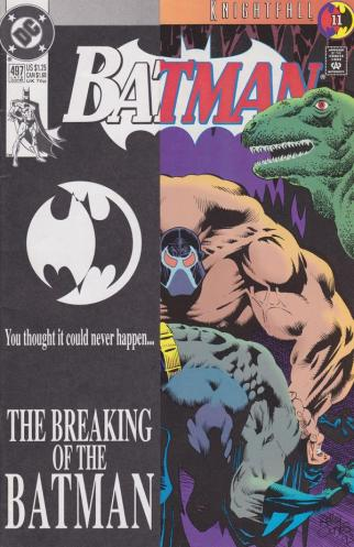 Batman 497 Knightfall Part 11